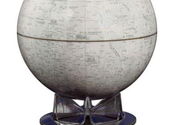NASA Moon Globe and Booklet