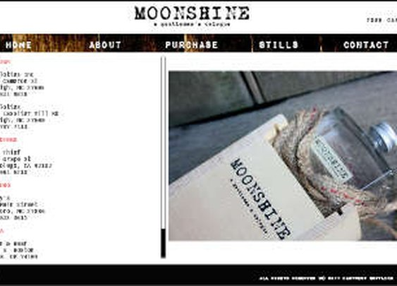 Moonshine - a gentlemans cologne