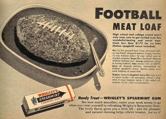 Football Meatloaf