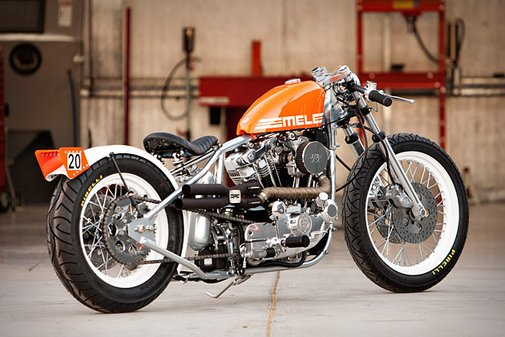 DP Customs Mele Motorcycle | Uncrate