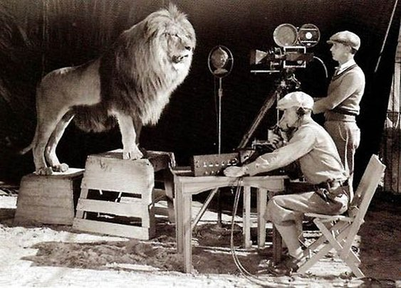 Making The MGM Logo: The Shooting Of A Roar | Bit Rebels