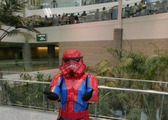Spiderman Stormtrooper