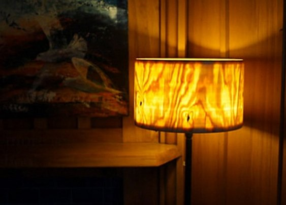 Turning A One-Piece Wooden Lamp Shade From a Tree Section