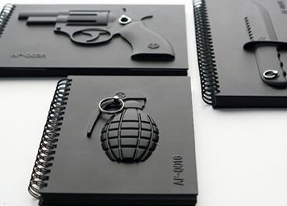 Armed Notebooks at Gent Supply