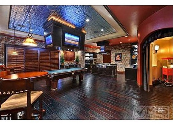 Homes for sale with decked out man caves