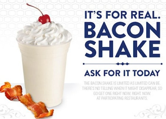 Jack in the Box Creates a Bacon Milkshake