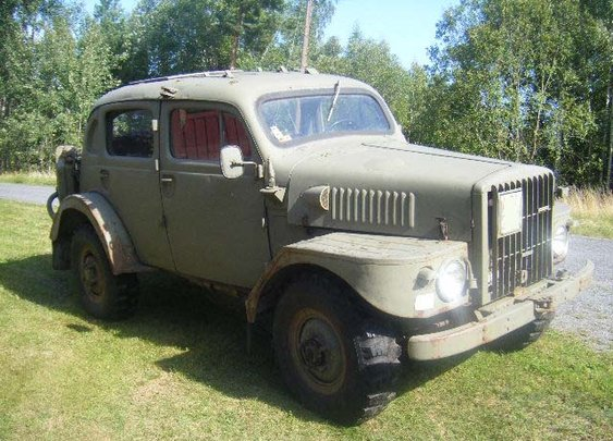 "1954 Volvo TP21 ""Sugga"""