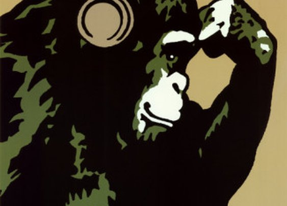 """Monkey Thinker"" by Steez"