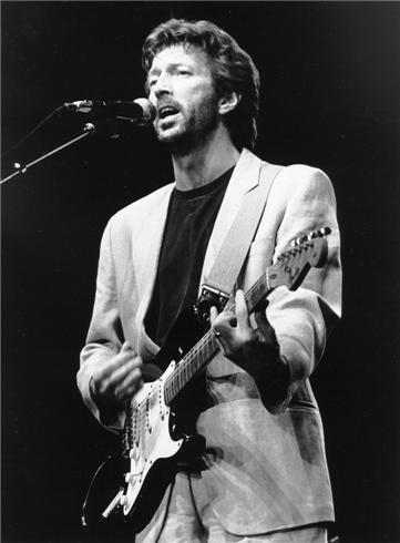 Eric Clapton, NYC, 1985 | Bob Gruen