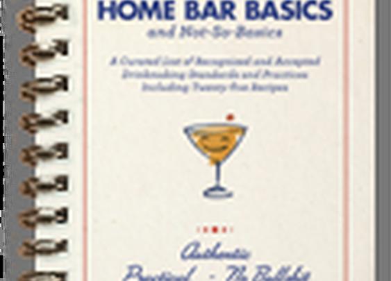 THE BASICS | Home Bar Basics