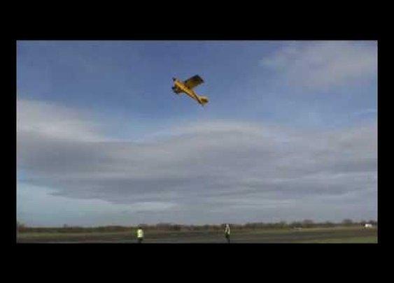 Husky + Headwind = Helicopter     - YouTube