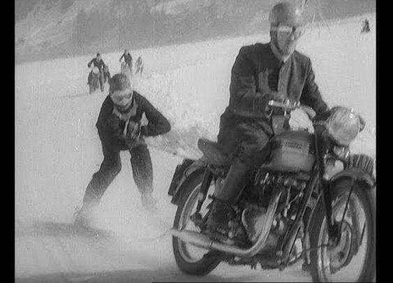 Very Manly Skiing (1955)      - YouTube