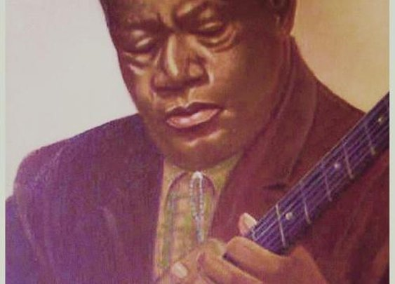 Bukka White Poster By Helen Thomas