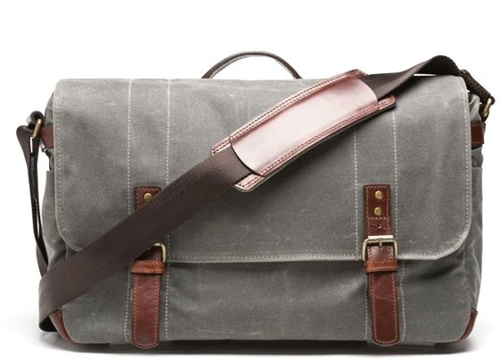 ONA |  DSLR Camera and Laptop Bag | Waxed Canvas Messenger Bag