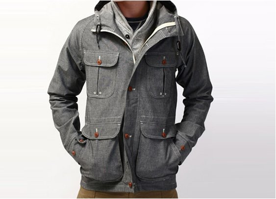 W+H Waterproof Chambray Mountain Parka