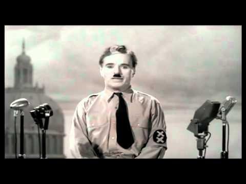 The Greatest Speech Ever Made - Charlie Chaplin      - YouTube