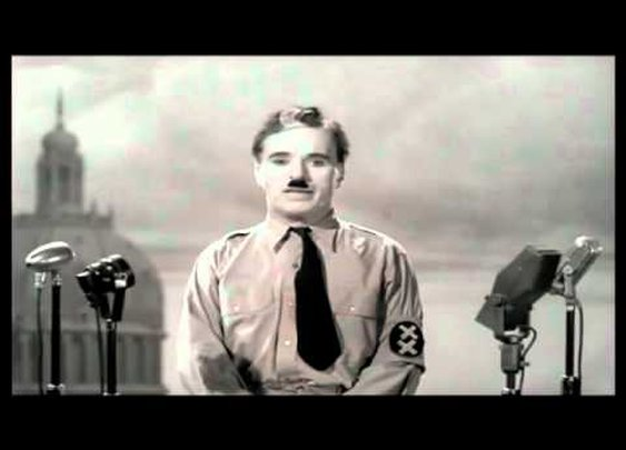 The Greatest Speech Ever Made - Charlie Chaplin      - YouTube