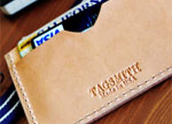 The Flat Wallet Card Case by Tagsmith | Primer