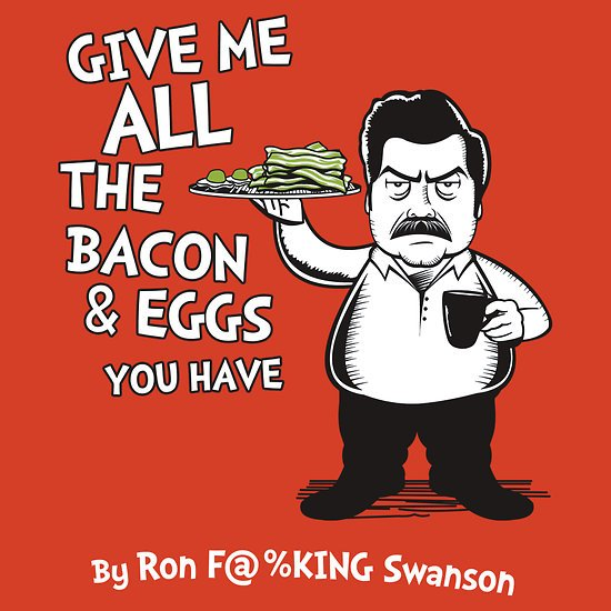 """""""Ron Swanson VS Dr. Seuss"""" T-Shirts & Hoodies by Tom Trager   RedBubble"""