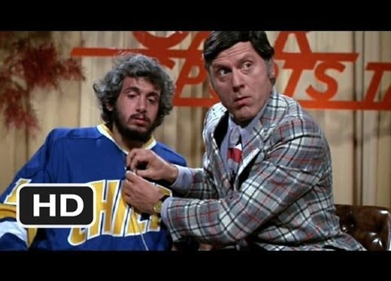 Slap Shot (1/10) Movie CLIP - The Finer Points of Hockey (1977) HD      - YouTube