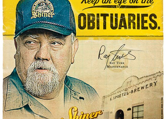 Shiner Beer Posters | Great ad campaign from McGarrah Jessee.