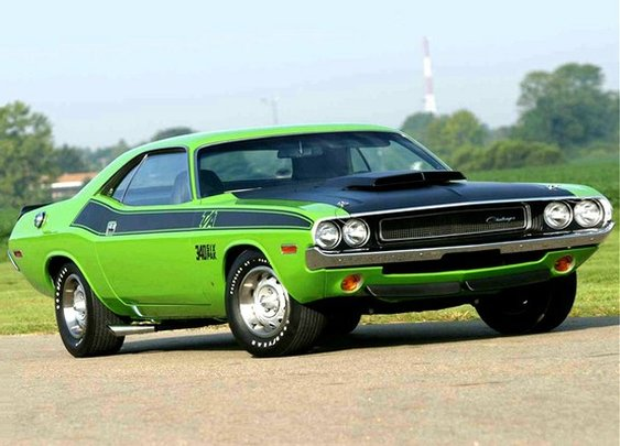 The Challenger in 1970 T/A trim.