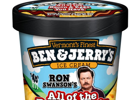 B&J's Ron Swanson Ice Cream