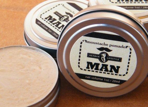 Herban Lifestyle MAN Moustache Pomade | Herban Lifestyle