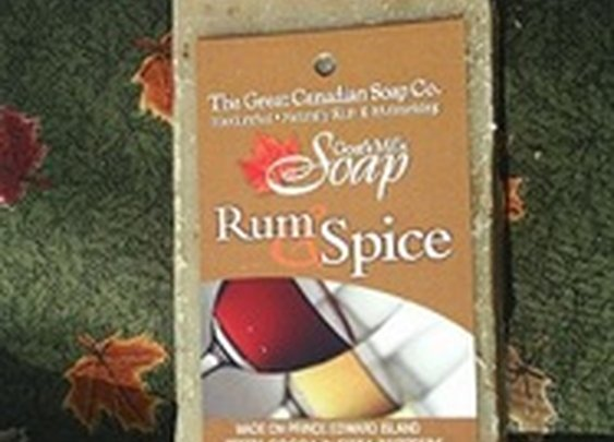 Rum and Spice Goat's Milk Soap