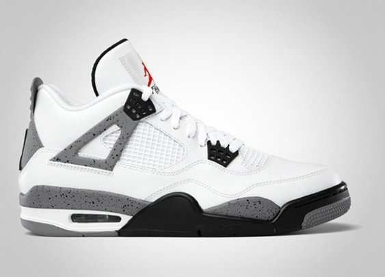Air Jordan IV 2012 White Cement Retro