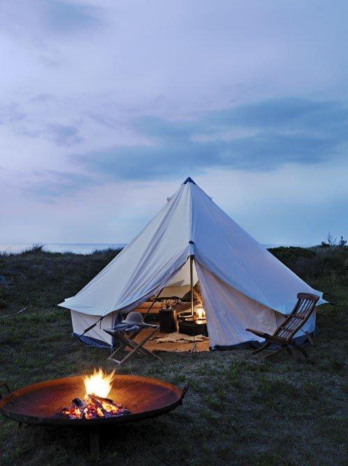 peaceful yurt
