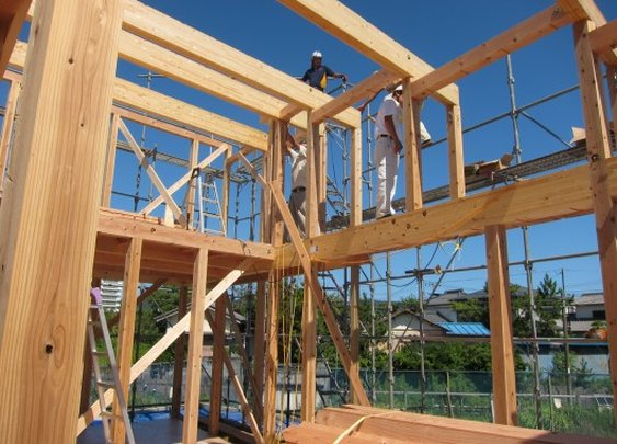 Japanese Precut Timber Construction
