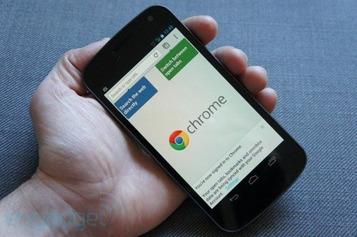 Chrome Beta for Android hands-on (video) -- Engadget