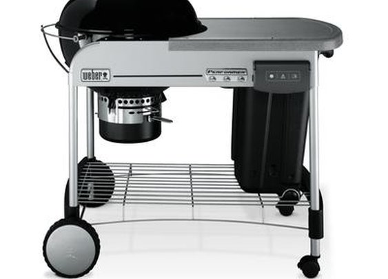 Weber Performer charcoal BBQ