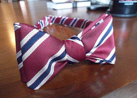 100% Silk Hand Made Bow Tie