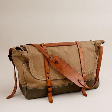 Wallace & Barnes upland field bag - bags - Men's accessories - J.Crew
