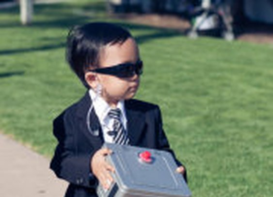 Best. Ring. Bearer. Ever.
