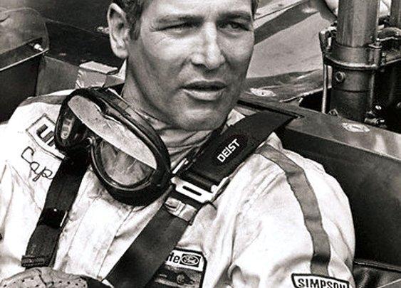 Paul Newman, a man's man