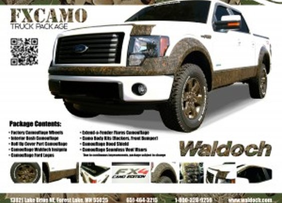 F150 Camo Edition Truck Package