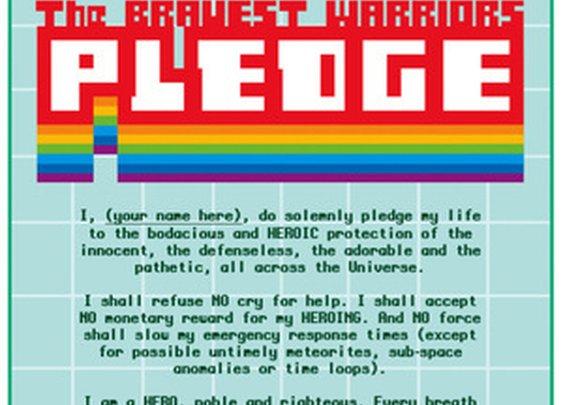 The Bravest Warriors Pledge