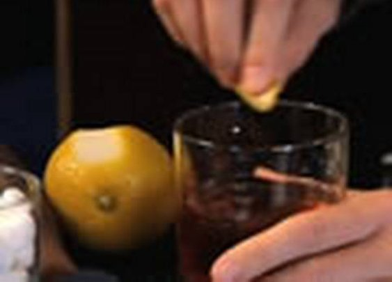 Rachel Maddow: How to make an old fashioned cocktail