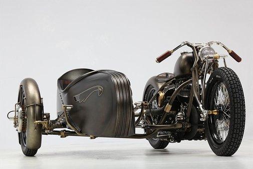 Abnormal Cycles | Harley-Davidson sidecar
