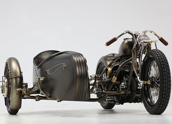 Abnormal Cycles | Harley-Davidson sidecar