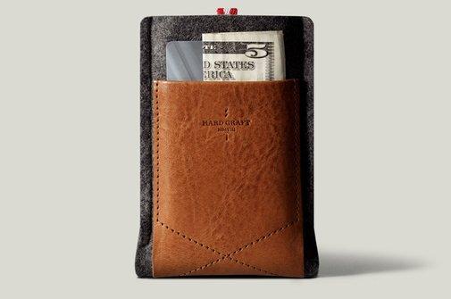 hard graft / Pocket Phone Case / Heritage