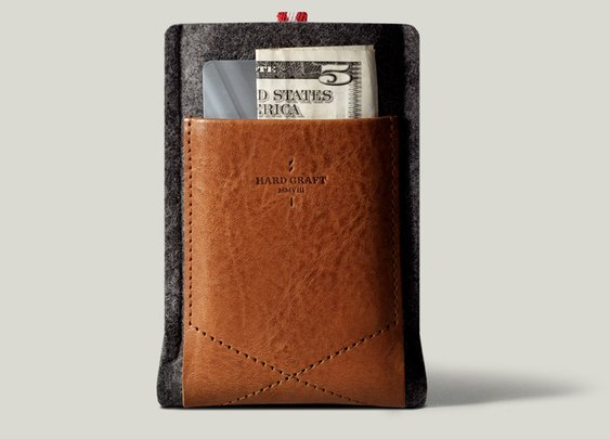 hard graft / Pocket Phone Case / Heritage