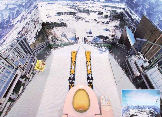 Bathroom Downhill