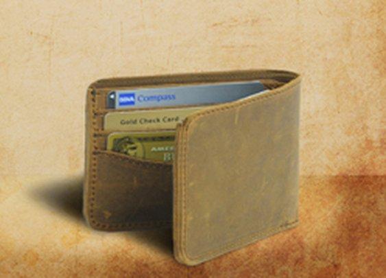 Saddleback Lether Wallet