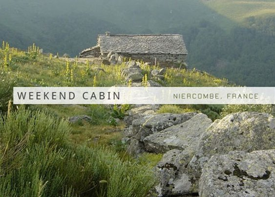 A 300-year-old cheese-making hut is turned into an awesome rustic Weekend Cabin