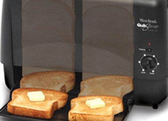 Slide-Through Toaster