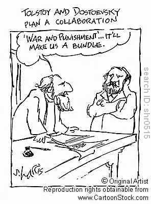 Tolstoy and Dostoevsky Collaborate